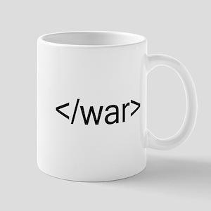 End war html code Mugs