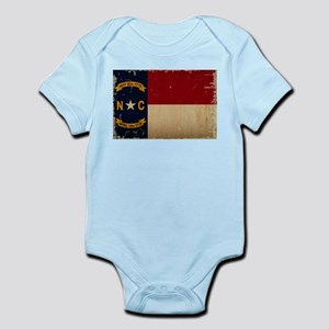 North Carolina State Flag VINTAGE Body Suit
