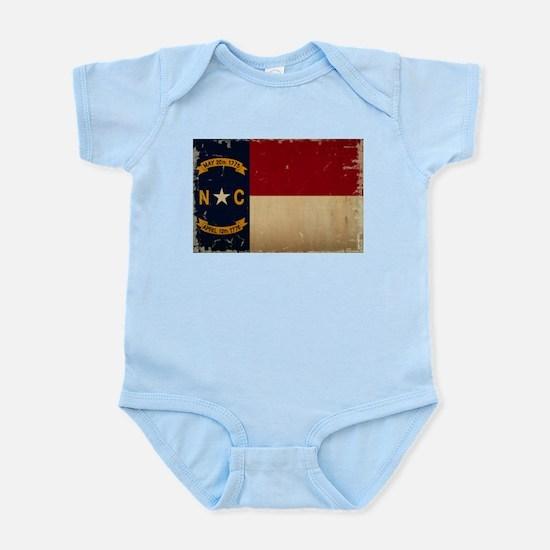 North Carolina State Flag VINTAGE Body Suit
