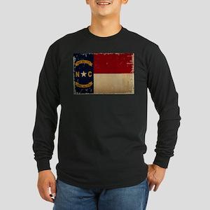 North Carolina State Flag VINTAGE Long Sleeve T-Sh