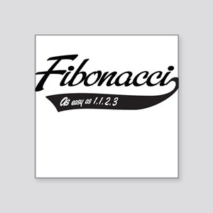 Fibonacci as easy as 1,1,2,3 Sticker