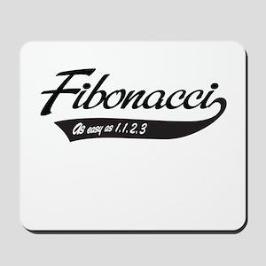 Fibonacci as easy as 1,1,2,3 Mousepad