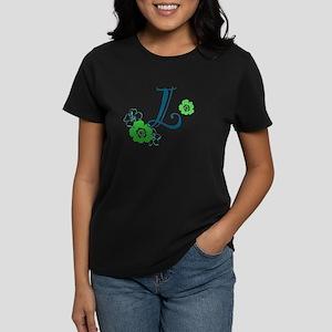 L Flowers Women's Dark T-Shirt
