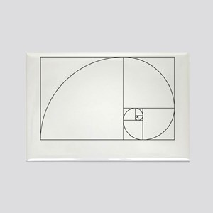 Fibonacci spiral Magnets