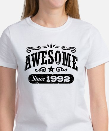 Awesome Since 1992 Women's T-Shirt