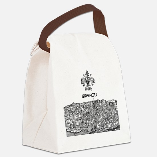 Florence Canvas Lunch Bag