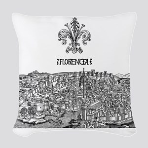 Florence Woven Throw Pillow