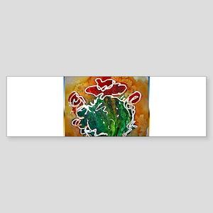 Cactus, southwest art Bumper Sticker