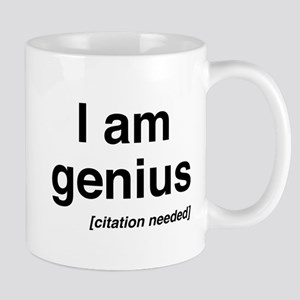 I am genius citation needed Mugs