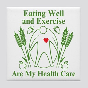 My Health Care Tile Coaster