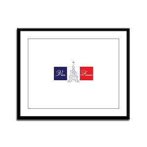 Vive la France! Framed Panel Print