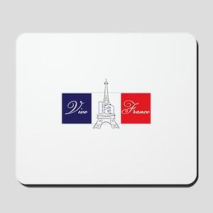 Vive la France! Mousepad