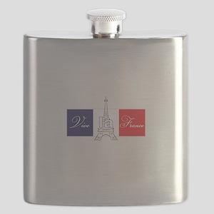 Vive la France! Flask