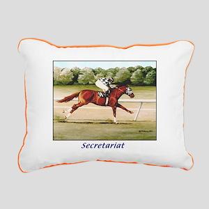 Secretariat Rectangular Canvas Pillow