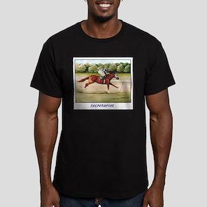 Secretariat Men's Fitted T-Shirt (dark)