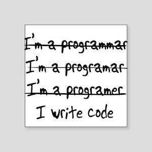 I'm a programmer Sticker