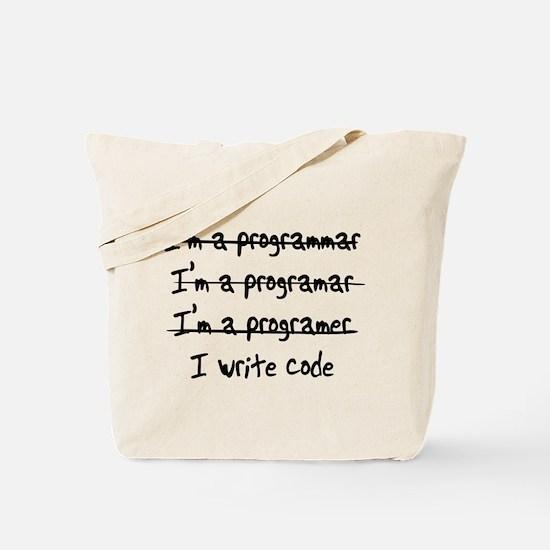 I'm a programmer Tote Bag
