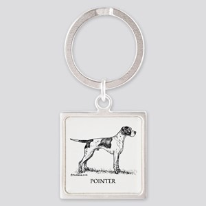 Pointer Square Keychain