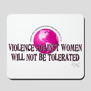 Stop Violence Against Women Mousepad