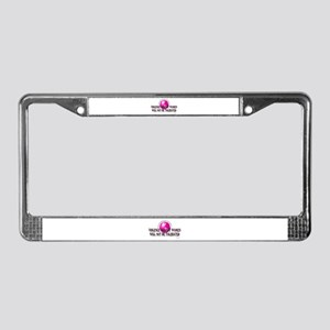 Stop Violence Against Women License Plate Frame