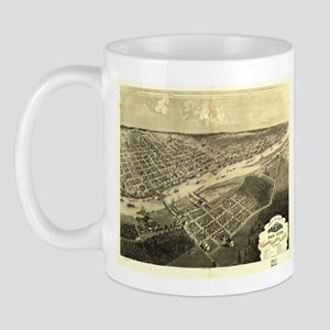 Bay City, MI -1867. Antique m Mug