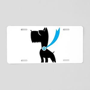 Best in Show Scottie Dog Aluminum License Plate