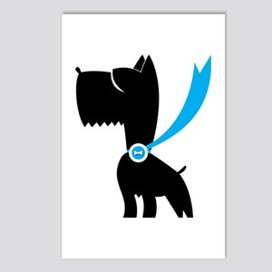 Best in Show Scottie Dog Postcards (Package of 8)