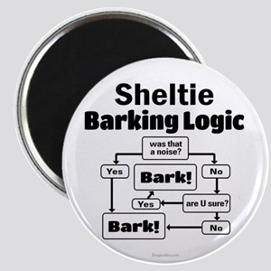 Sheltie Logic Magnet