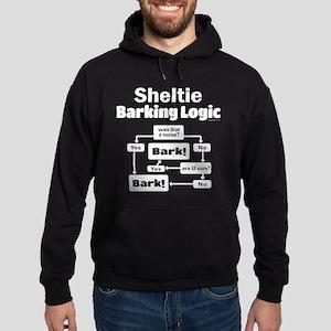 Sheltie Logic Hoodie (dark)