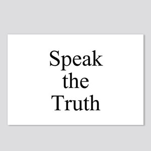 Speak the Truth Postcards (Package of 8)