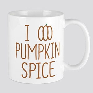 I Love Pumpkin Spice Mugs