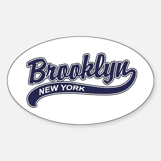 Brooklyn Oval Decal
