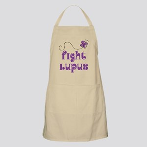 Lupus Purple Butterfly Apron