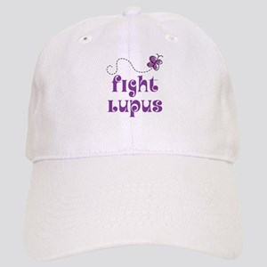 Lupus Purple Butterfly Cap