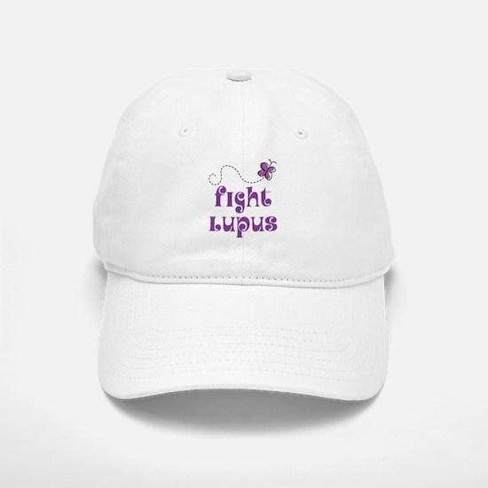Lupus Purple Butterfly Baseball Baseball Cap