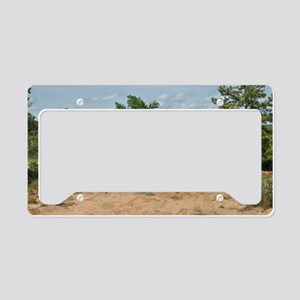 Abrams Main Battle Tank License Plate Holder