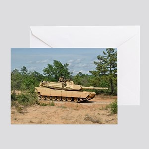 Abrams Main Battle Tank Greeting Card