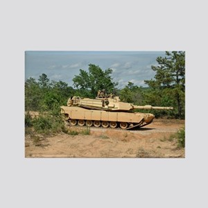 Abrams Main Battle Tank Rectangle Magnet