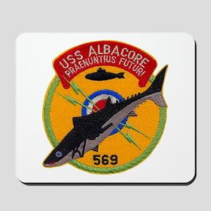 USS ALBACORE Mousepad