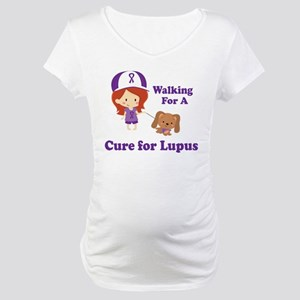 Lupus Walk for a Cure Maternity T-Shirt