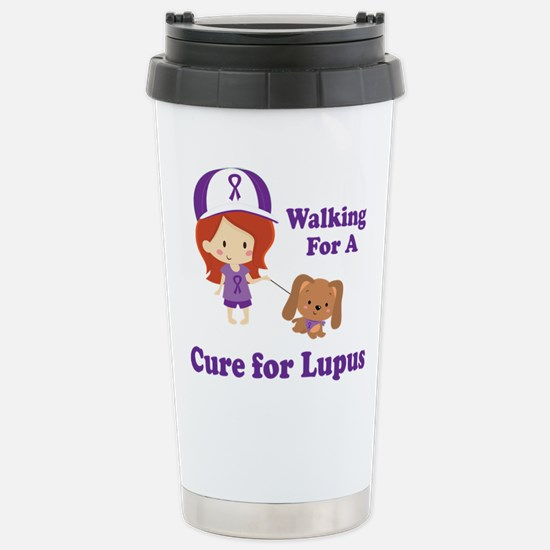 Lupus Walk for a Cure Stainless Steel Travel Mug