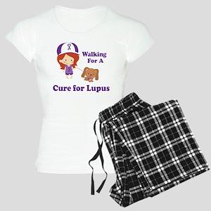 Lupus Walk for a Cure Women's Light Pajamas