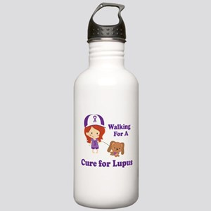 Lupus Walk for a Cure Stainless Water Bottle 1.0L