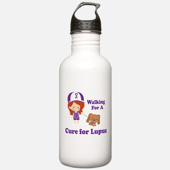 Lupus Walk for a Cure Water Bottle