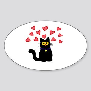 Love Cat Sticker