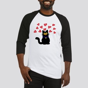 Love Cat Baseball Jersey
