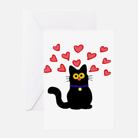 Love Cat Greeting Cards