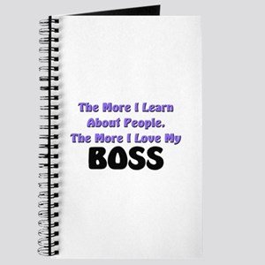 more I learn about people, more I love my BOSS Jou