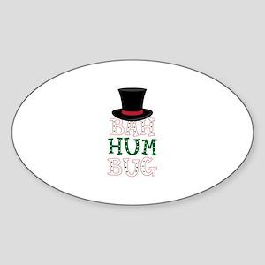 Bah Hum Bug Hat Sticker