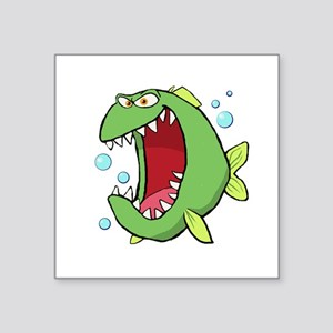 Crazed Fish Sticker